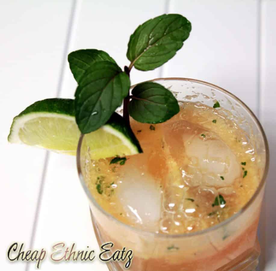 Ginger Julep Cocktail 2