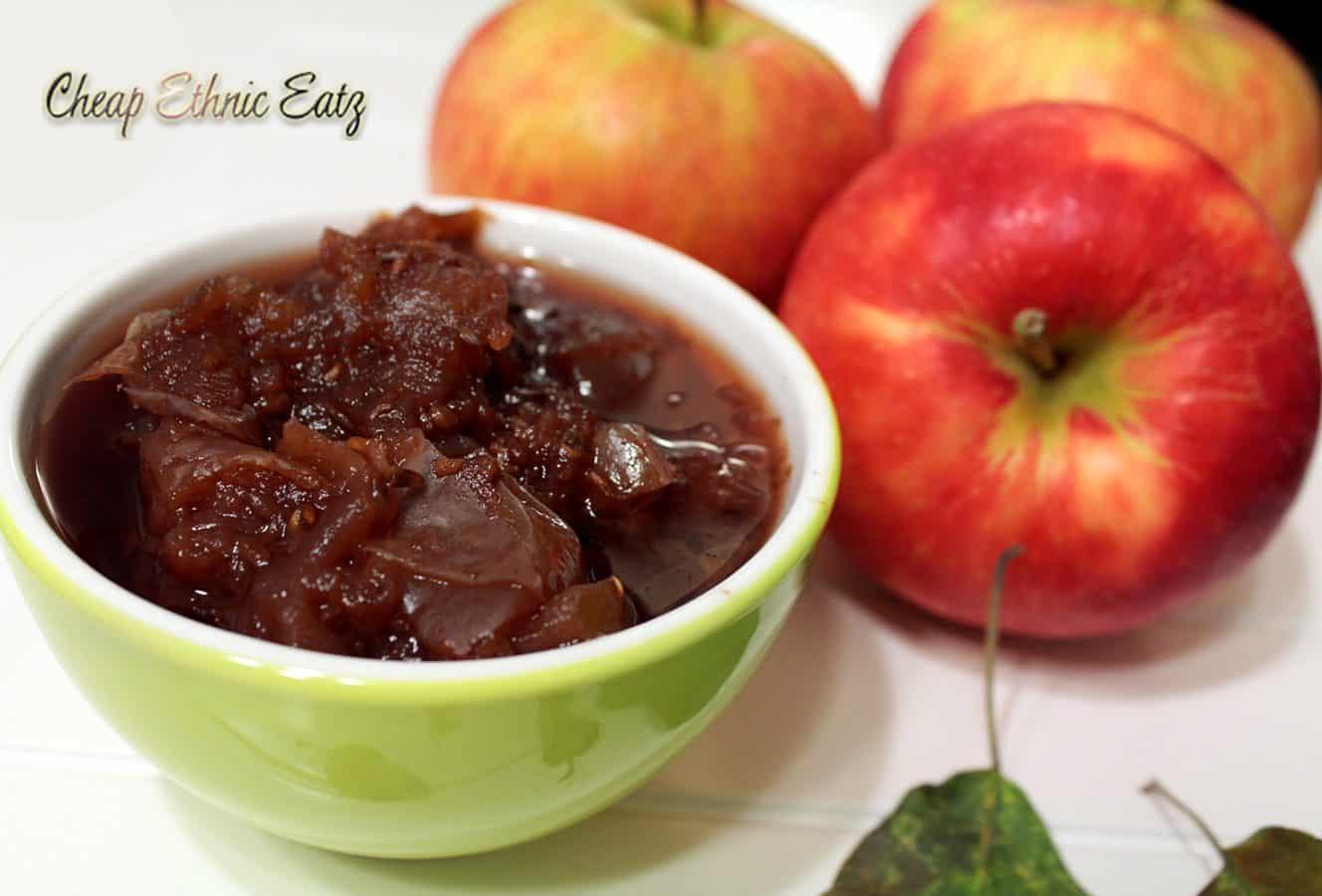 Bourbon Lavender Raspberry Applesauce