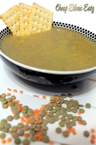 Egyptian Lentil Soup top