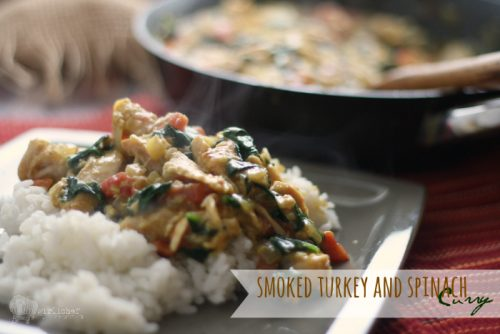 Smoked Turkey and Spinach Curry_3424