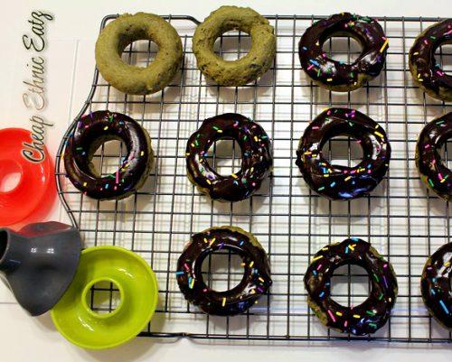 Matcha mini donuts molds