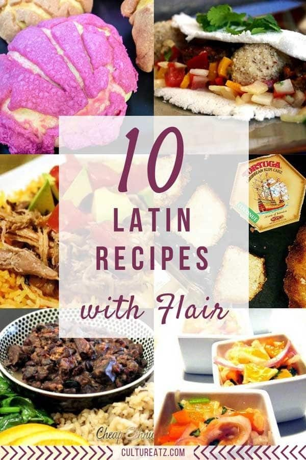 10 Latin Recipes with Estilo