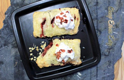 Berries n Cream Turnover top