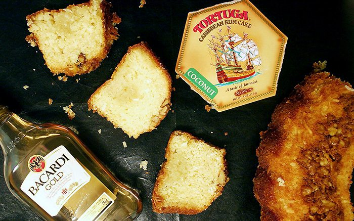Caribbean Rum Cake with Coconut