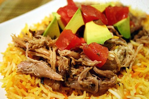 Carnitas pulled pork