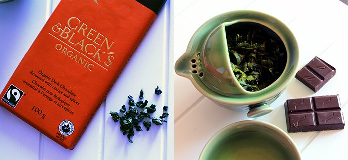 Green & Black's Orange & Spices with oolong