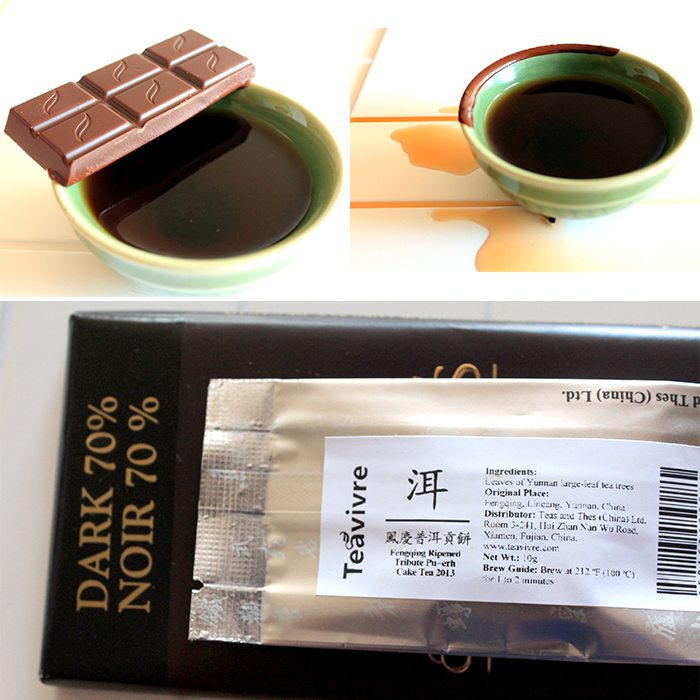 Green & Black's Organic Dark 70 with Pu-erh