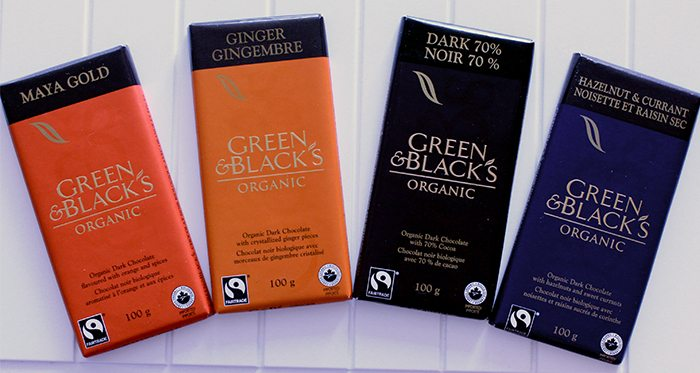 Green and Black's Organis Chocolate