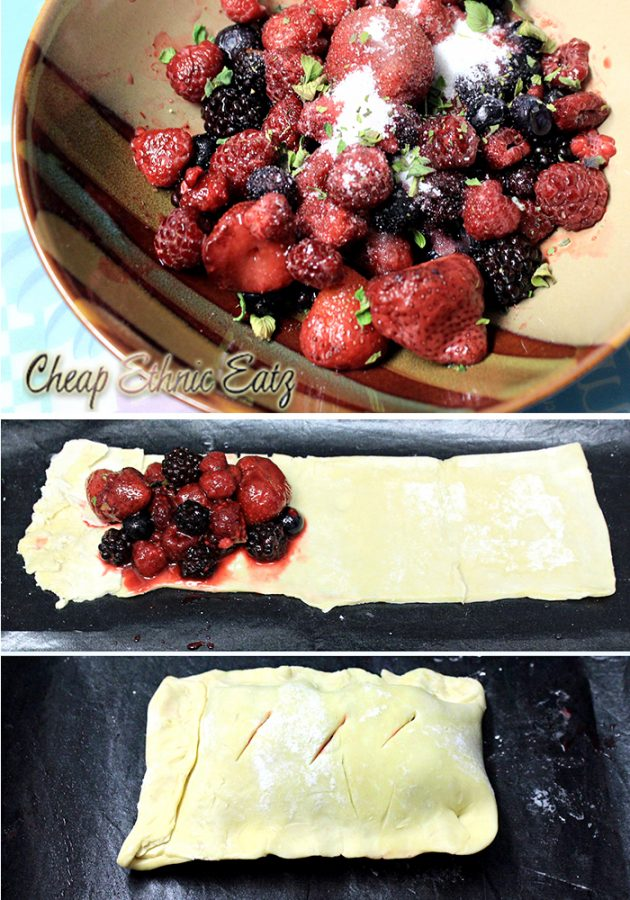 the making of the Berry Turnover