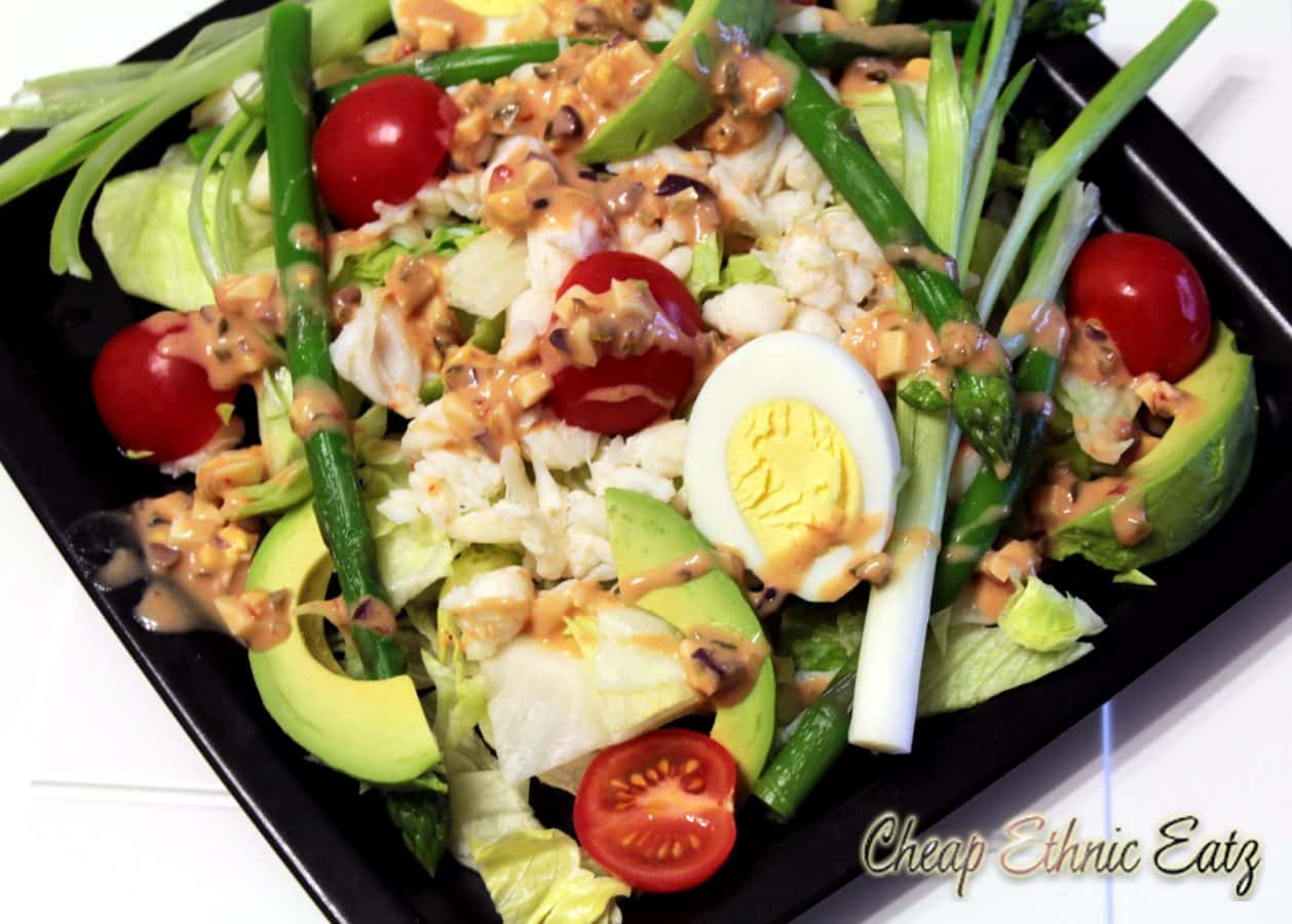 Crab Louie Salad, the healthy San Francisco Treat?