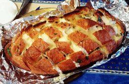 Cheesy Garlic Party bread