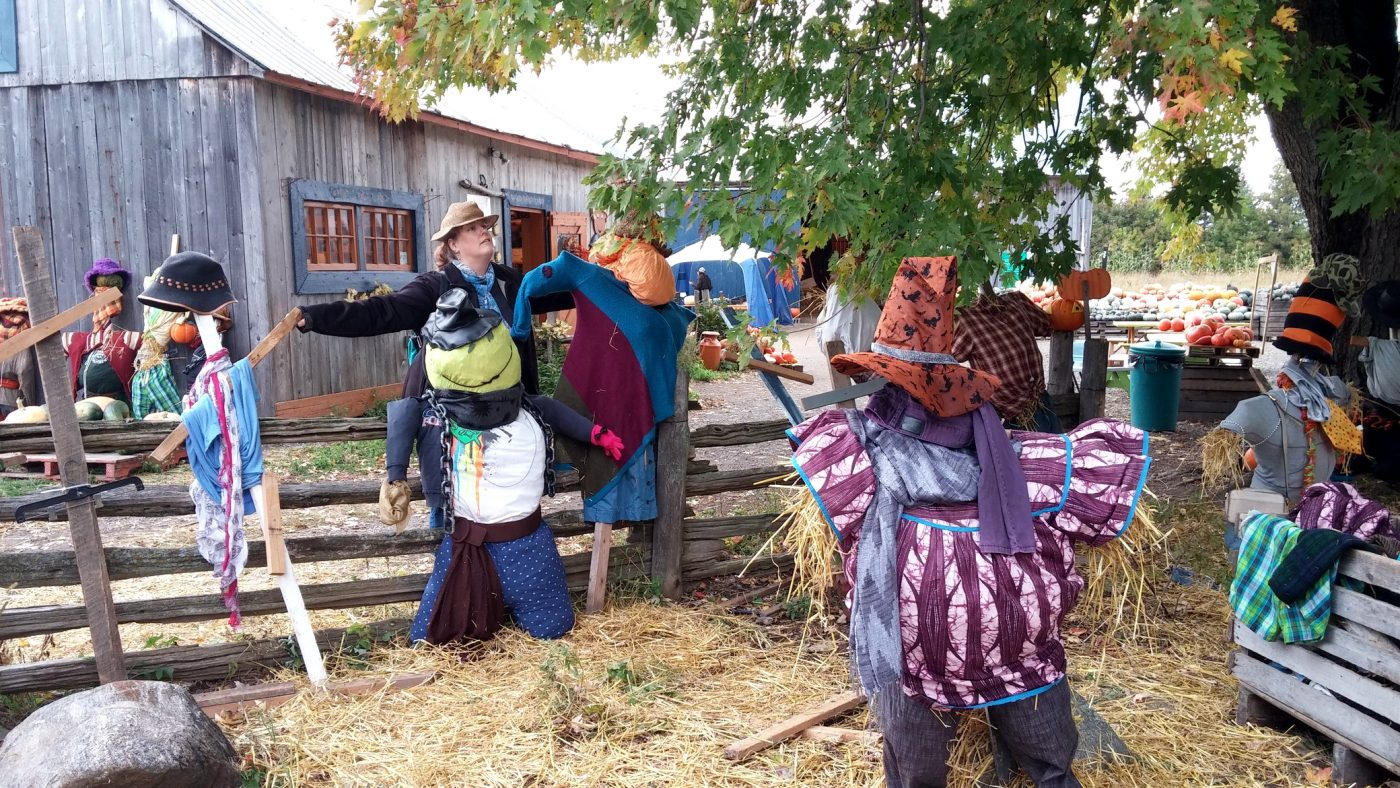 La Courgerie scarecrows