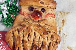Fruity Santa Bread