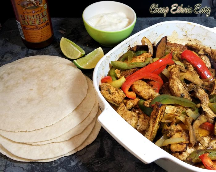 Oven-Roasted Chicken Fajitas & Unique Book Gift Ideas