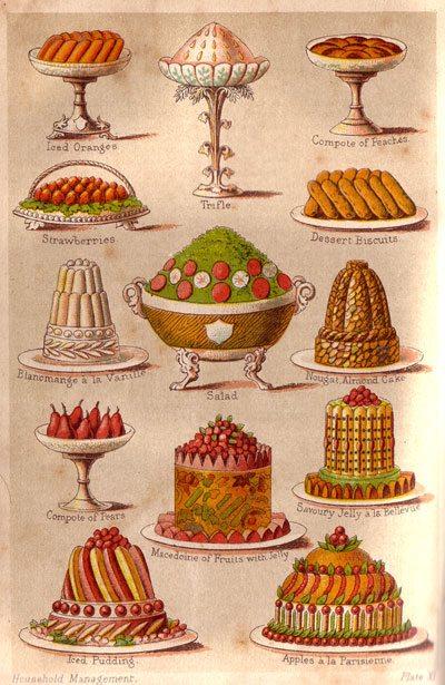 Regency Era desserts