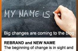 blog rebrand