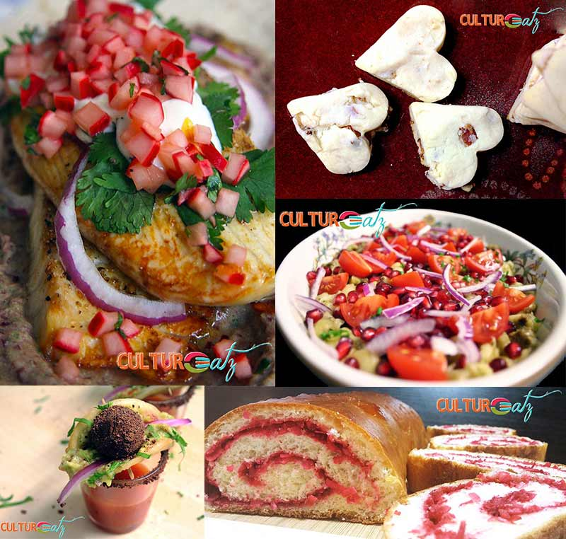 Saint Valentine recipe round-up