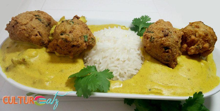 Kadhi Chawal dish