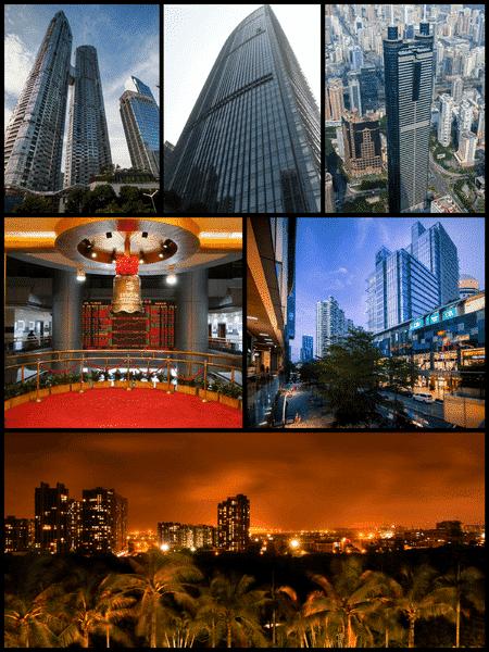 Shenzhen city montage