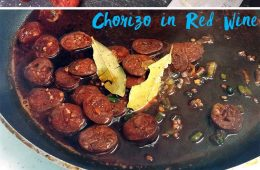 Chorizo in Red Wine Tapas