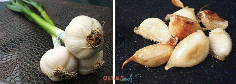 Sopa de Ajo fresh Garlic