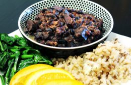 Brazilian Dishes vegan feijoada