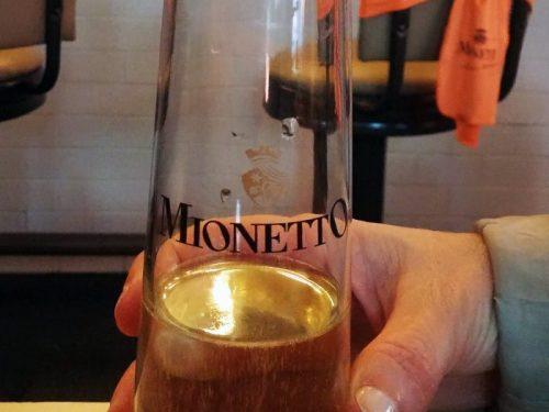 Mionetto Treviso Prosecco glass