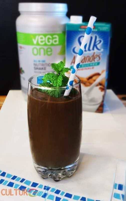 Vega Silk Chocolate Matcha Smoothie