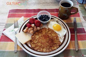 cat tail pancakes breakfast