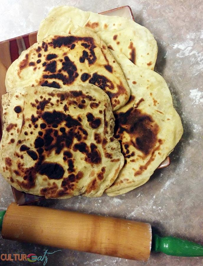 Sabaayad flatbread