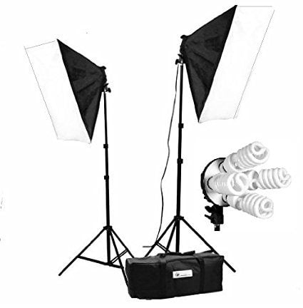 Food Photography Gift Guide CanadianStudio 1600 W Video Photo Studio lighting Softbox light kit