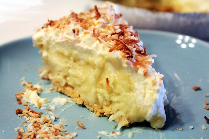 pie crust coconut cream pie