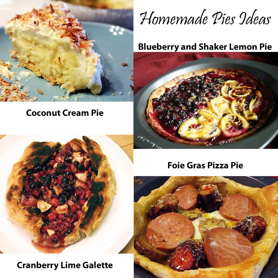 pie crust homemade pie ideas