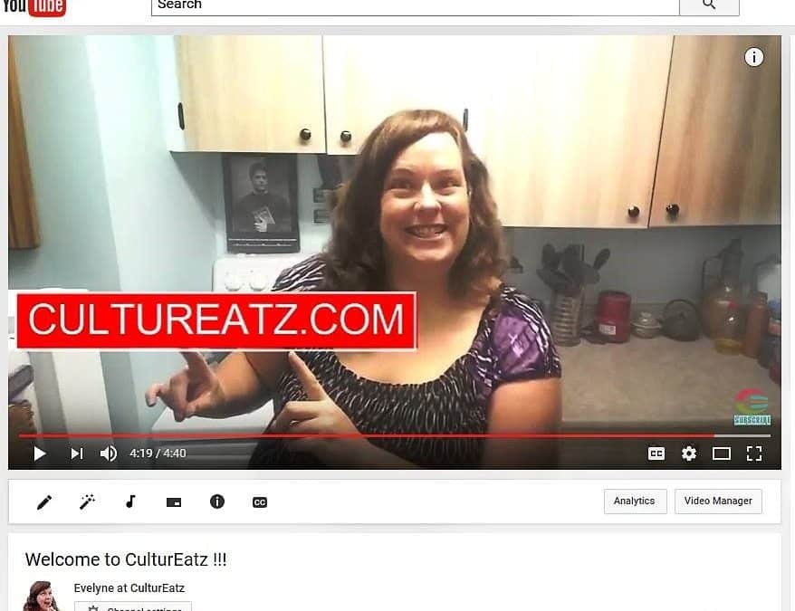 The CulturEatz YouTube channel : my new obsession!
