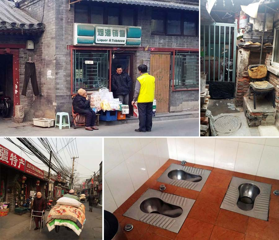Beijing-hutongs life