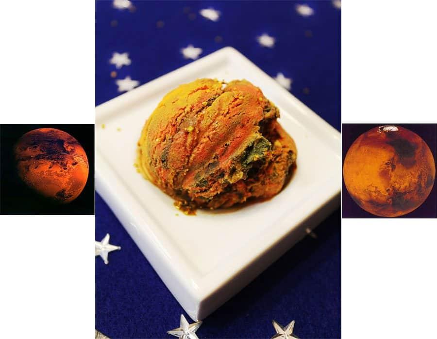 planet Mars vs Mars ice cream