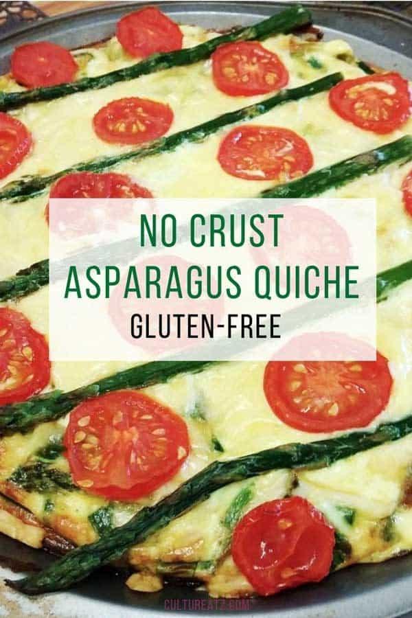 No Crust Asparagus Quiche