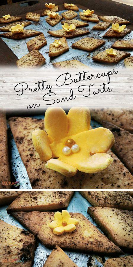 Buttercups on Sand Tarts pinterest