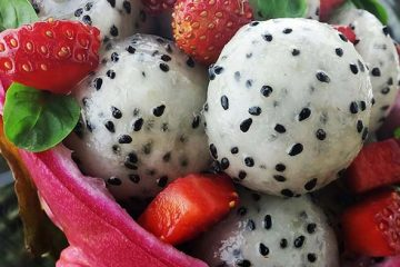 Mother of Dragon Fruit Salad