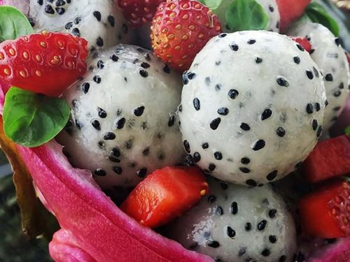 Mother of Dragon Fruit Salad