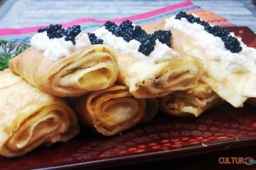 Savory Ukrainian Filled Crepes Nalysnyky