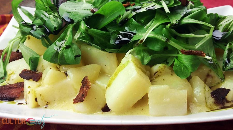 Styrian Potato Field Salad