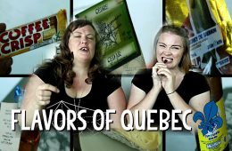 DANISH GIRL TRIES 12 QUEBEC SNACKS