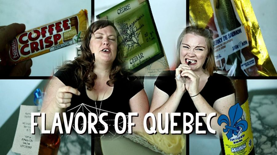 Danish Girl Tries 12 Quebec snacks and a small blog break