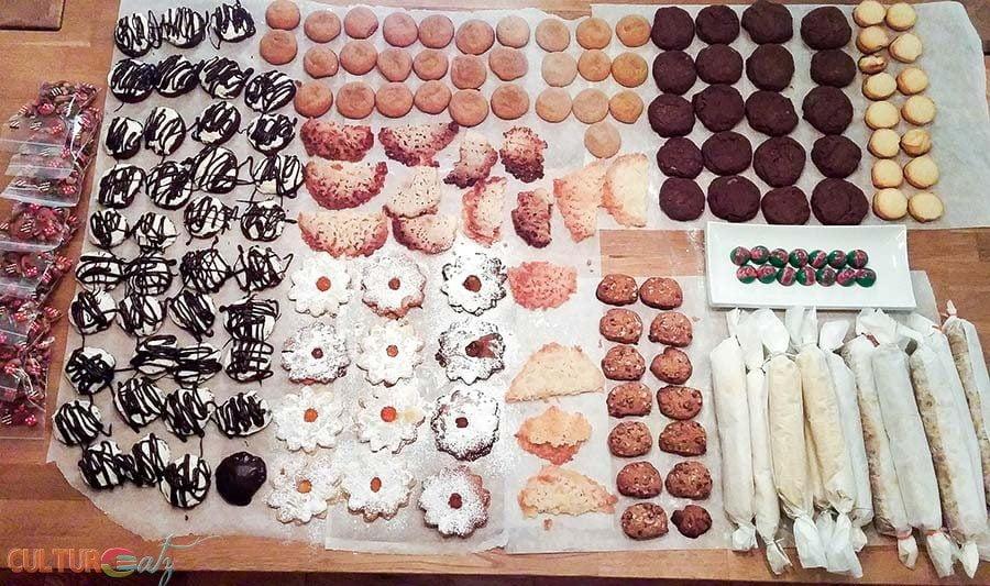Austrian Linzer Cookies