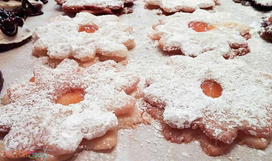 Christmas Cookie Bake-Off with Devil's Food and Austrian Linzer Cookies