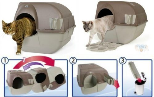 Omega Paw Roll N Clean Self Cleaning Litter Box Christmas Gift Guide 2017