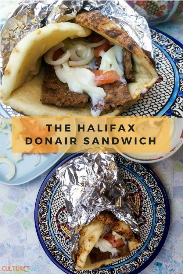 The Halifax Donair sandwich