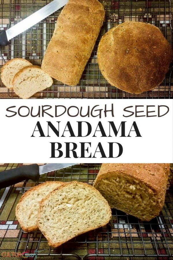 Sourdough Seed Anadama Bread
