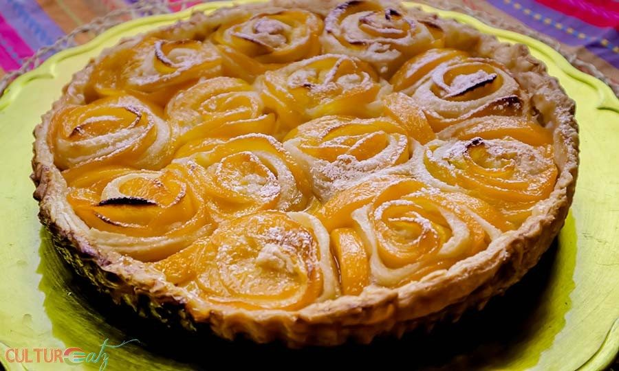 Peach Rosette Tart pie recipe roundup